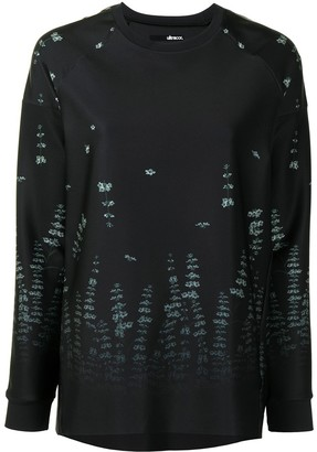 ULTRACOR Forest Print Detail Sweatshirt