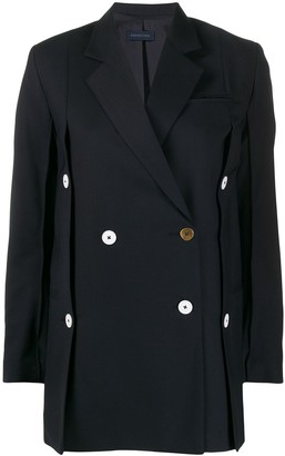 Eudon Choi Beatrice buttoned jacket