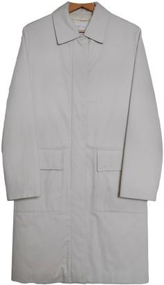 Helmut Lang White Cotton Coats