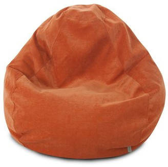 Majestic Home Goods Villa Large Classic Bean Bag Chair, Multiple Colors