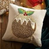 Kaleidoscope Christmas Pudding Cushion