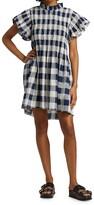Thumbnail for your product : Sea Morgan Plaid Smocked Dress