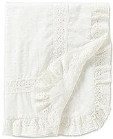 Edgehill Collection Swiss Dot Knit Blanket