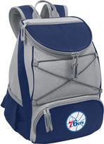 Picnic Time PTX Cooler Backpack Philadephia 76ers Print