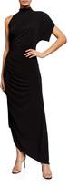 retrofete Monica One-Shoulder Asymmetric Cocktail Dress