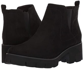 BC Footwear Fight For Your Right (Black Suede) Women's Boots