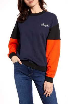 Wrangler Colorblock Sweatshirt