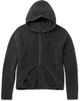 Beams Japan Wool-Blend Fleece Zip-Up Hoodie