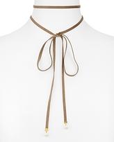 Nadri Pearl Drop Choker Necklace