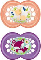 BabyCenter MAM Original Latex Soothers Dummies Pacifiers for Girls