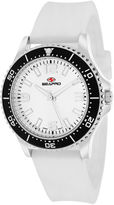 Seapro Tideway Womens White Dial White Silicone Strap Watch