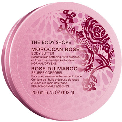 The Body Shop Moroccan Rose Body Butter