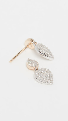 Adina 14k Double Teardrop Post Earrings