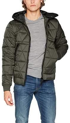 G Star Men's Strett Utility Qlt HDD JKT Jacket, (Mazarine Blue 4213)
