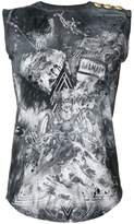 Balmain Warrior tank top