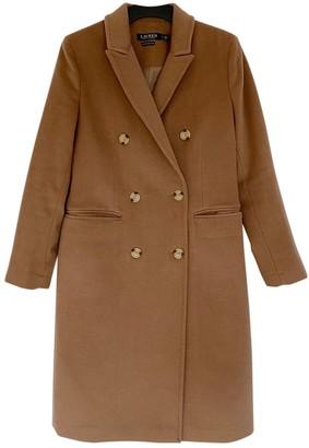 Lauren Ralph Lauren Camel Wool Coat for Women