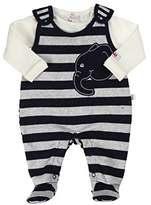 Kanz Unisex Baby Romper T-Shirt 1/1 Sleeves Striped Clothing Set