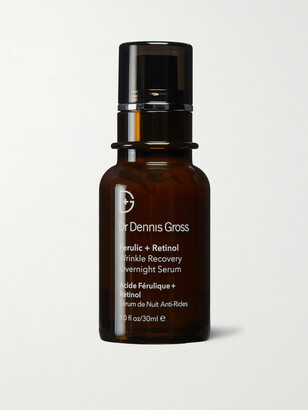 Dr. Dennis Gross Skincare Ferulic + Retinol Wrinkle Recovery Overnight Serum, 30ml