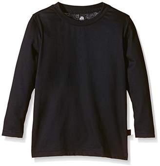 Trigema Unisex Jungen Langarm Shirt 100% Baumwolle Long Sleeve Top