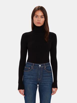 Billie The Label Jean Rib Turtleneck Sweater