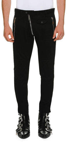 DSQUARED2 Biker-Style Denim Pants