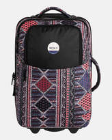 Roxy Roll Up Wheeled Printed Suitcase Travel Bag