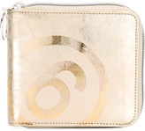 MM6 MAISON MARGIELA small zip around wallet - women - Cotton/Polyester/Polyurethane - One Size