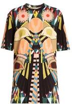 Givenchy Geometric-print round-neck cotton T-shirt