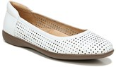 Naturalizer Flexy Leather Perforated Flat - Wide Width Available