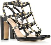 Valentino Rockstud Noir High-Heeled Sandal