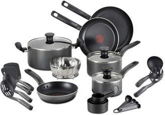 T-Fal 18-Pc. Nonstick Cookware Set