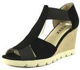 The Flexx Lotto Women Us 7.5 Black Wedge Sandal.