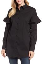 Halogen Women's Ruffle Sleeve Tunic