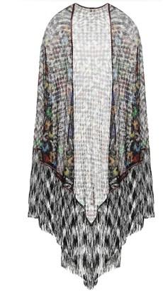 Missoni Floral knit shawl