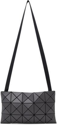 Bao Bao Issey Miyake Grey Lucent Messenger Bag