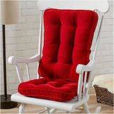 Asstd National Brand Standard Hyatt Rocking Chair Cushion Set