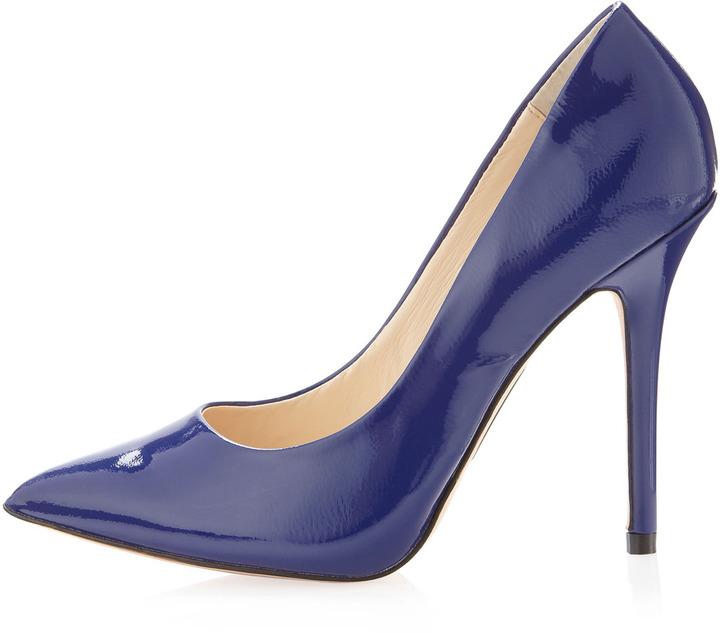 Boutique 9 Justine Patent Pump, Blue