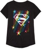 Jerry Leigh Super Girl Star Logo T-Shirt- Girls' 7-16