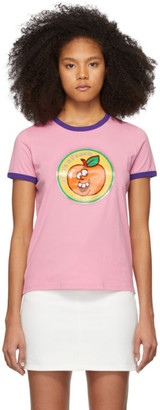 Marc Jacobs Pink The Ringer T-Shirt