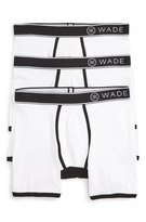 Naked Wade Stretch Cotton Boxer Briefs (3-Pack)