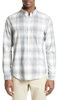 Norse Projects Men's Woven Check Sport Shirt