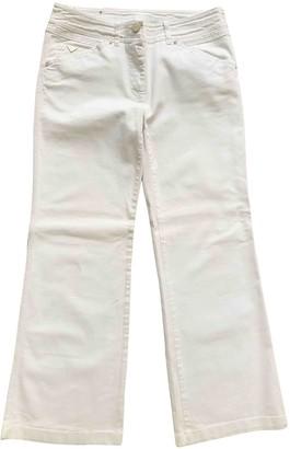 Max Mara Weekend White Denim - Jeans Trousers for Women