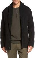 Vince Trim Fit Shawl Collar Button Cardigan
