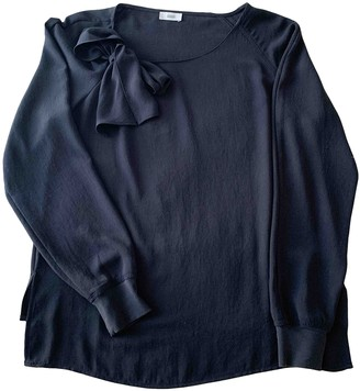 Closed Blue Top for Women