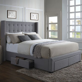 Darby Home Co Thousand Oaks Storage Platform Bed