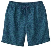 Merona Men's Swim Trunks - Blue Paisley