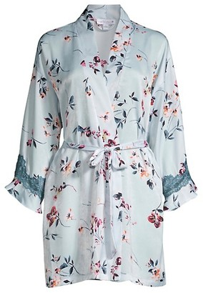 In Bloom Ivy Wrapper Floral Robe