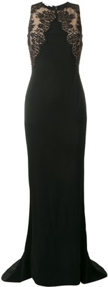 Stella McCartney Lace Insert Evening Dress