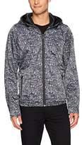 Calvin Klein Jeans Men's Gravel Nylon Track Jacket