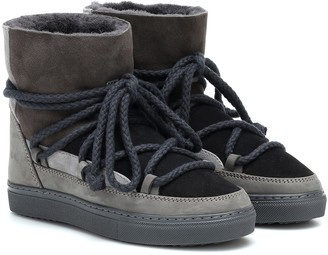 INUIKII Suede ankle boots